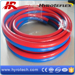 PVC Double Welding Hose/PVC Gas Hose pictures & photos
