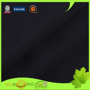Black 4 Way Stretch Nylon Spandex Power Mesh Fabric