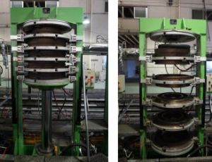 Motorcycle Tire Vulcanizing Curing Press Machine pictures & photos