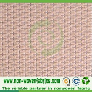 PP Nonwoven Fabric in Cross-Design in High Quality Cambrelle100% pictures & photos