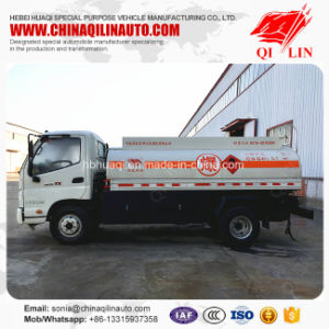 Foton 4X2 5000 Liters Oil Tank Truck for Asian Market pictures & photos
