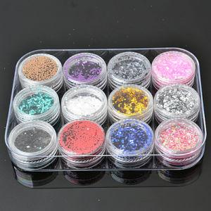 Nail Glitter Powder Dust 3D Nail Art Decoration Nail Art Bottle pictures & photos
