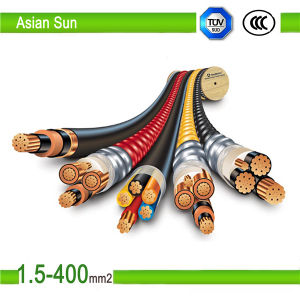 High Quality Copper/Aluminium Conductor XLPE Insulation Power Cable pictures & photos