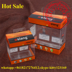 Hot Selling Folding Clear Pet Plastic Box Hinged Lid for Gift Package