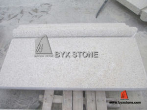 Yellow Natural Granite Wall Curtain, Cladding Wall, Pier Base pictures & photos