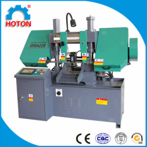Horizontal NC Band Saw Machine (NC Band Saw GHS4228 GHS4235) pictures & photos