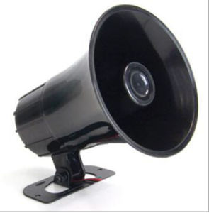 White or Black Police Electronic Siren pictures & photos