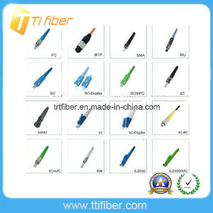 FC/St/Sc/LC/Mu/MTRJ/MPO/E2000 Fiber Optic Connector pictures & photos