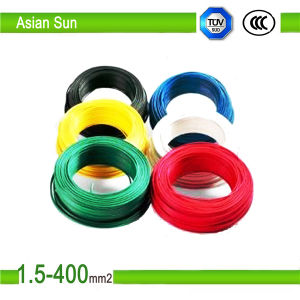 High Quality 2.5mm PVC Insulated Electric Wires pictures & photos