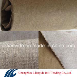 Df67 9.5oz Khaki 98 Cotton 2 Spandex Fabric for Fashion Jeans