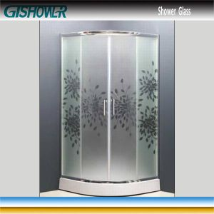 Tempered Shower Glass (Acid No 8) pictures & photos