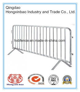 Cross Feet Crowd Control Barriers Galvanized Temporary Fence pictures & photos