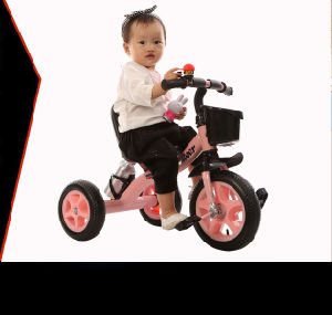 China Baby Tricycle Kids Bike Scooter Trike Steel Frame with Ce pictures & photos