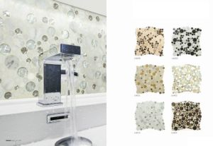 30X30 Hotsale 8mm Thickness Crystal Glass Mosaic (LAK49) pictures & photos