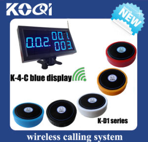 CE Approved 433.92MHz Hotel Ordering System pictures & photos
