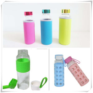 Hot Sale BPA Free Wholesale Glass Water Bottle with Sleeve pictures & photos