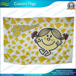 Custom Flag with Eco-Friendly Inks Printing (NF01F03010) pictures & photos