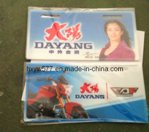 PVC License Plate Hx-L11 pictures & photos