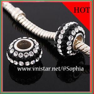 925 Silver European Beads (PSS837-1)