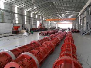 Semi-Automatic Electric Concrete Pole Production Line