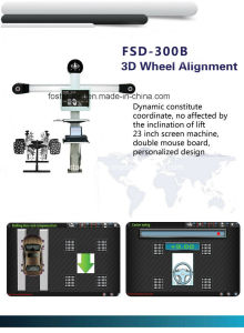 Fsd-300b 3D Wheel Alignment pictures & photos
