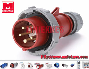 Industrial Plug 16A 3p+N+PE IP67 (MN1502)