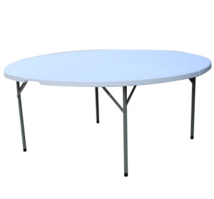 5.7ft Round Fold in Half Table/Hotel Furniture (HP-170YZ)