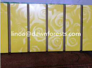 Melamine MDF Slotted Board/Slot MDF Board/Slot Board pictures & photos