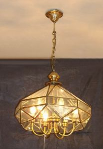 Brass Pendant Lamp with Glass Decorative 19004 Pendant Lighting pictures & photos