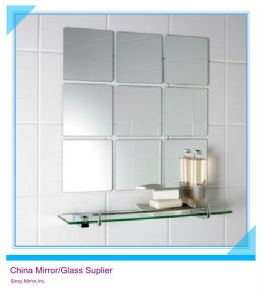 Non Fogging Water Proof 4mm Silver Mirror pictures & photos