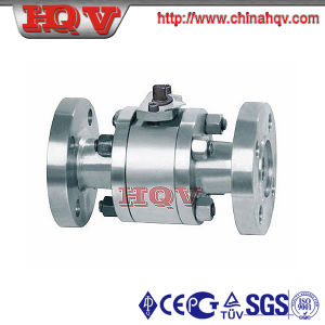 Flanged Forged Steel Floating Ball Valve