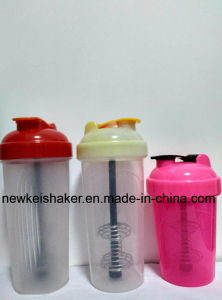 600ml Protein Blender Shaker with Plastic Strainer pictures & photos