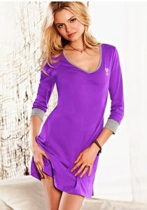 Women Viscose Nightshirt (PA000157) pictures & photos