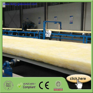 Good-Qualified Fiberglass Wool Insulation Roll pictures & photos