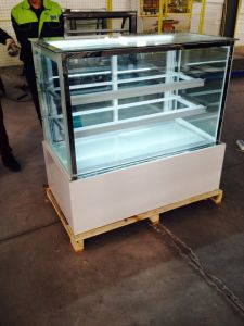 Commercial Display Cake Refrigerator Showcase