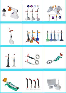 New Double Colors LED Curing Light of Dental Surgical Medical Instrument pictures & photos