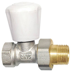 Brass Radiator Valve with Handle (a. 0156)