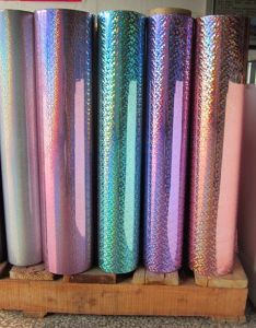 Colored Holographic Film