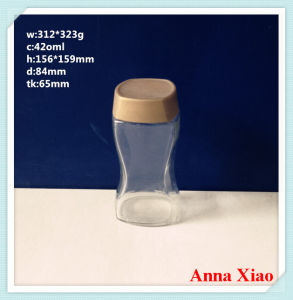 420ml Glass Coffee Jars with The Plastic Cap pictures & photos