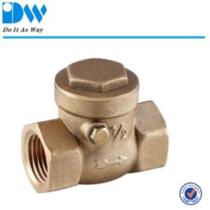 200wog Brass Swing Check Valve pictures & photos