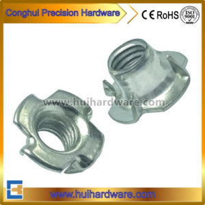 Zinc Plated Carbon Steel T Nuts/Tee Nut/Four Prongs/Claws Nut pictures & photos