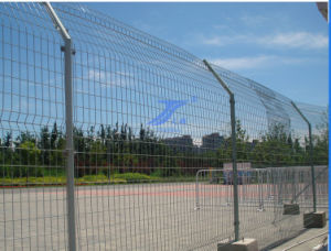 Temporary Event Fencing with Concrete Feet pictures & photos