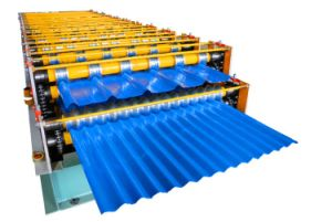 Dx Popular Trapezoidal Roof Sheet Making Machine pictures & photos