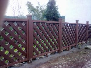 Plastic Composite Fencing pictures & photos