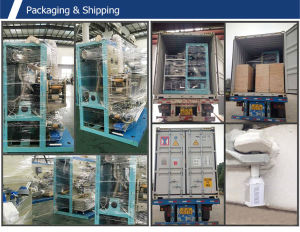 Full Servo Elastic Waistband Baby Diaper Machine pictures & photos
