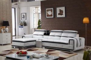 Italian Modern Recliner Leather Sofa