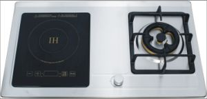 Gas Stove with Induction Cooker (JZ(Y. R. T)2-YQ100) pictures & photos