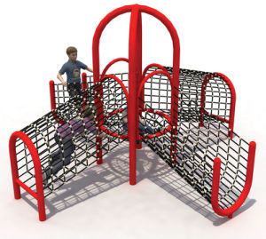 Kids Outdoor Rope Climbing Structure&Climbing Walls for Sale pictures & photos