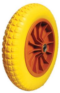 PU Wheels for Wheel Barrow Hand Trolley Tool Cart PU1305