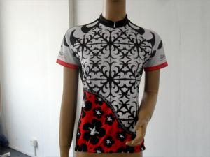 Customized Female Short Sleeve Cycling Jersey